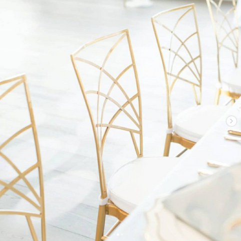 Gold Empire Chairs