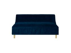 Boutique Navy Slipcover Sofa