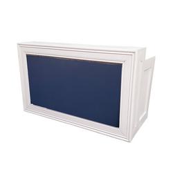 White Frame/Navy Insert $250