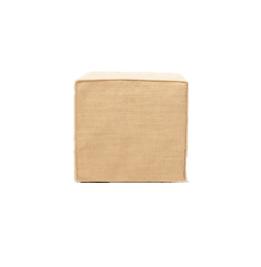 Honey Slipcover Ottoman $40