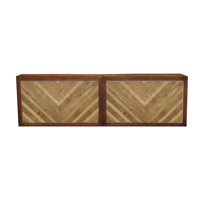Double Wood Frame Bar/Herringbone $400