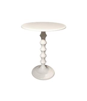 White Bistro Table $60