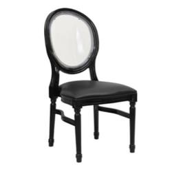Black King Louis Chair