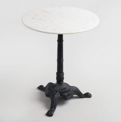 Marble Bistro Table $50