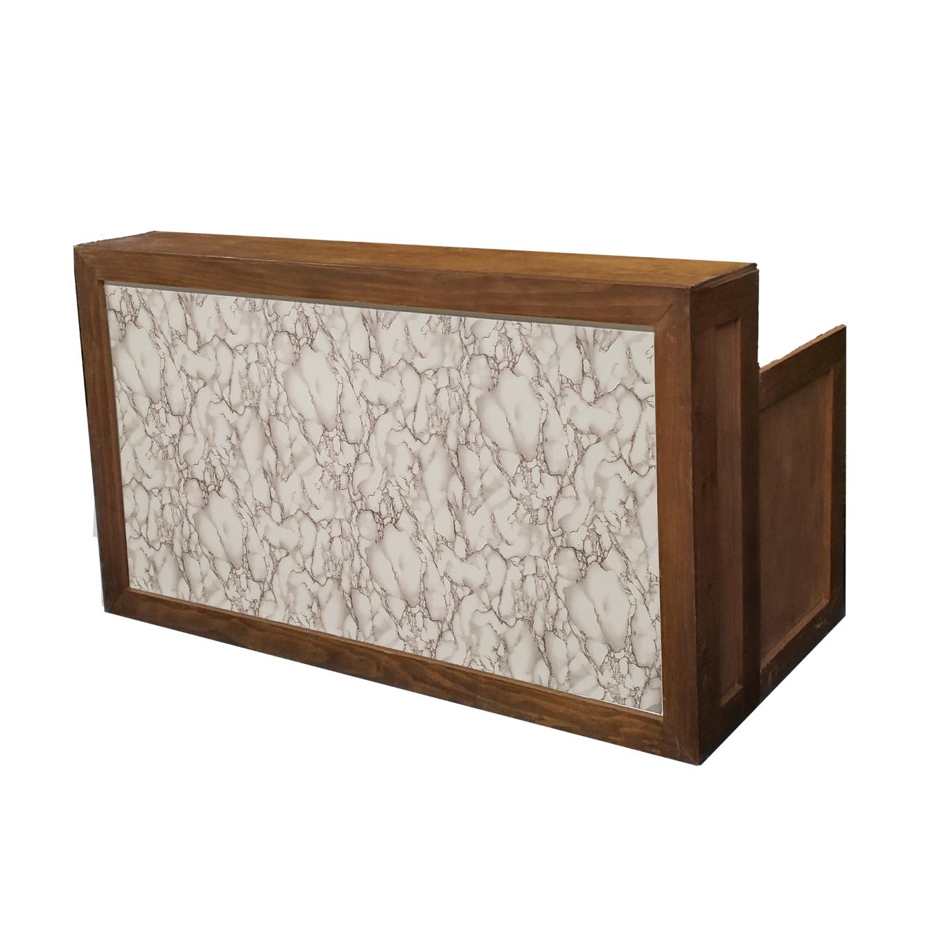 Wood Frame Bar/Marble Insert $200
