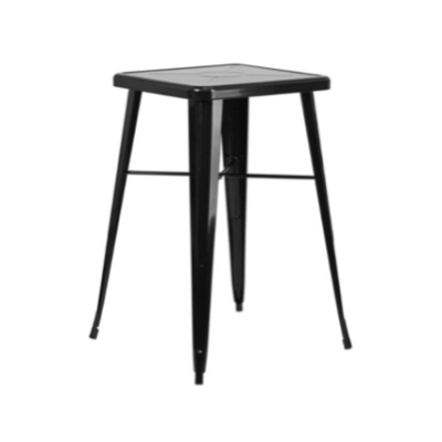 Black Industrial Cocktail Table  $75