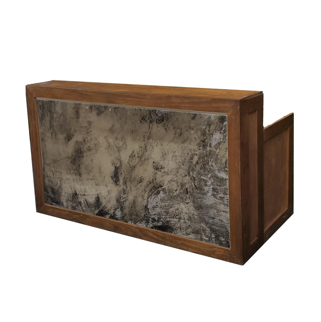 Wood Frame/Vintage Mirror $200