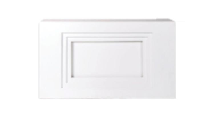 Modern Straight White Bar $250