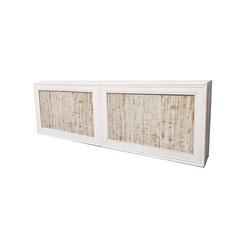 Double White Frame/Whitewash Insert $500