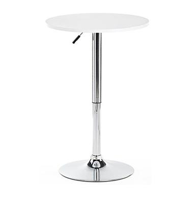 Chrome Adjustable Cocktail Table $75