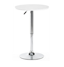 Chrome Adjustable Cocktail Table