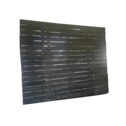 Ebony Plank Wall