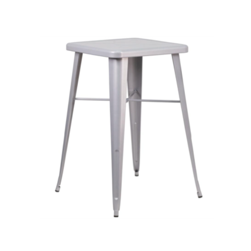 Silver Square Cocktail Table  $75