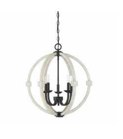 5-Light Globe Chandelier