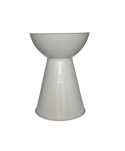 White Bongo Side Table