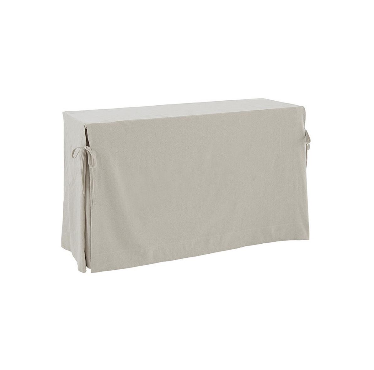 6ft/8ft Slipcover Sofa Table $60