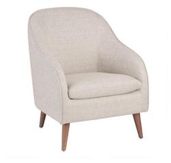 Morris Natural Linen Chair
