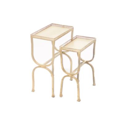 Gold Nesting Tables $40