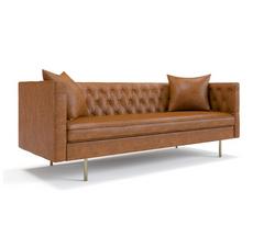 Edison Leather Sofa