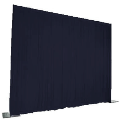 Navy Velvet Event Drape Per Foot $10