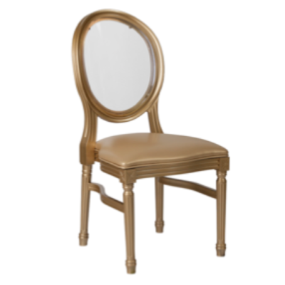Gold King Louis Chair