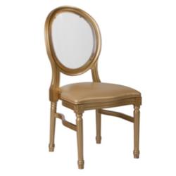 Gold King Louis Chair