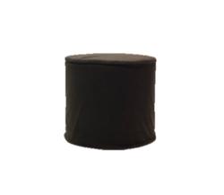 Black Round Ottoman $40