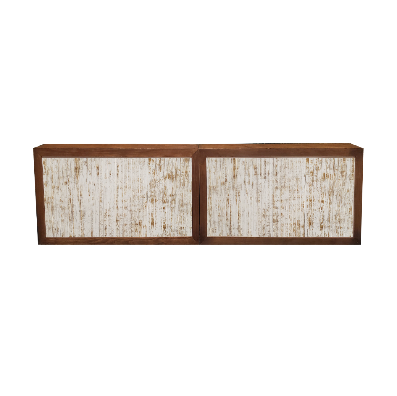 Double Wood Frame Bar/White Wash Insert  $400