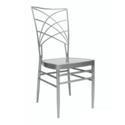 Silver Empire Chair