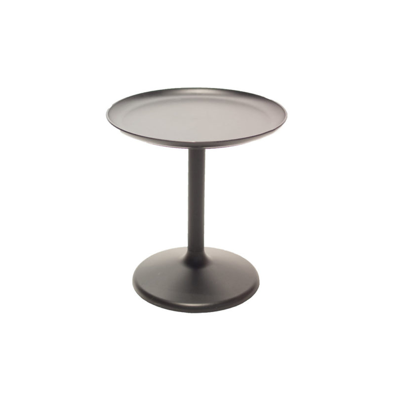 Black Tray Side Table