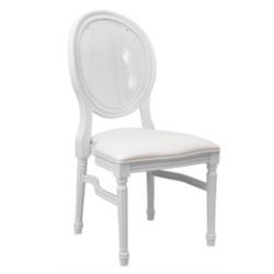 White King Louis Chair
