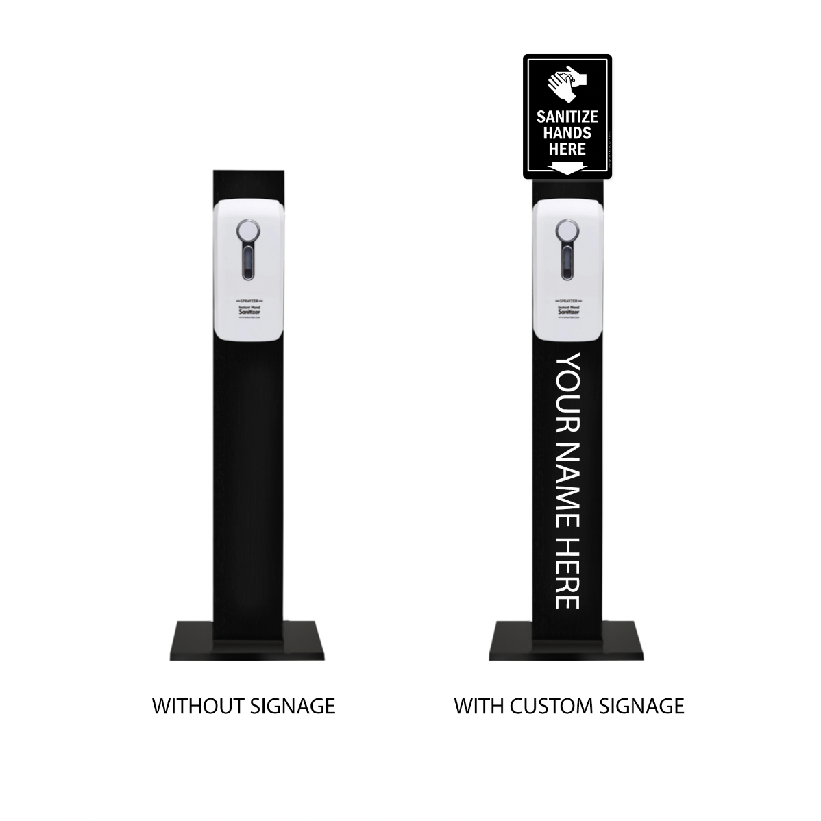 Hand Sanitizer Station $100/ $150 custom
