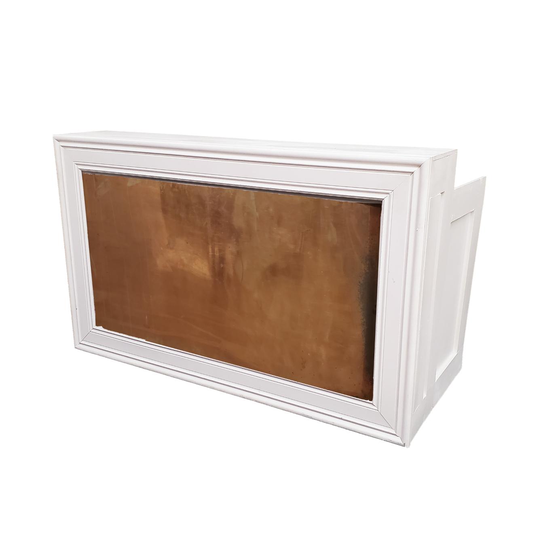 White Frame/Copper Insert $250