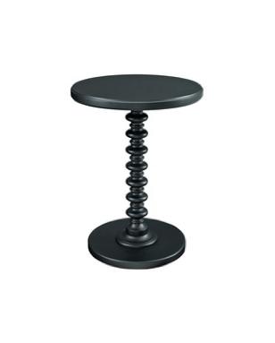 Kenzie Black Side Table $30