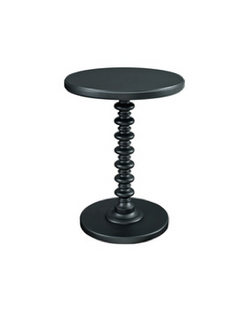 Kenzie Black Side Table