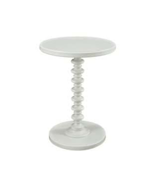 Kenzie White Side Table $30