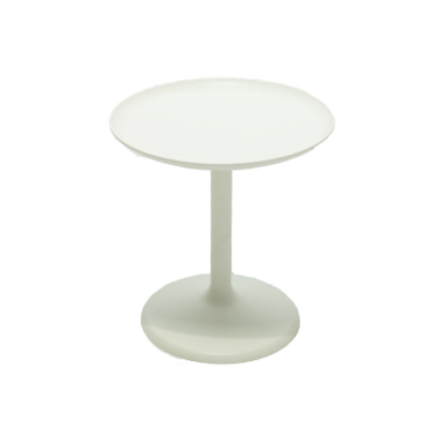 White Tray Side Table $20