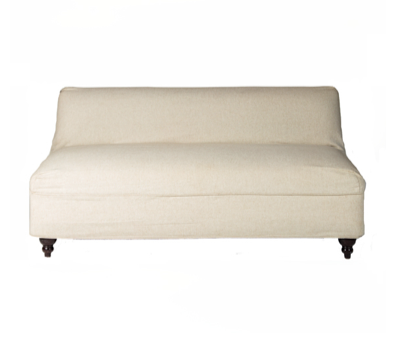 Boutique Linen Slipcover Sofa $175