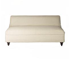 Boutique Linen Slipcover Sofa