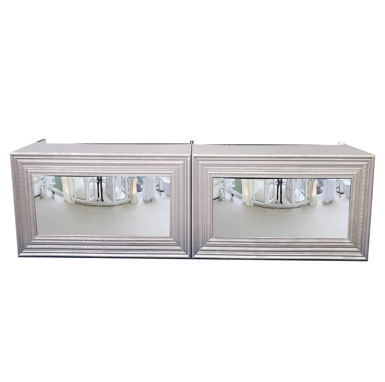 Double Silver Mirror Bar $400