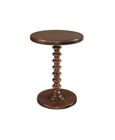 Kenzie Wood Side Table $30