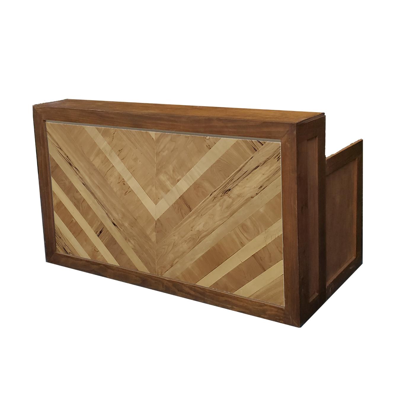 Wood Frame Bar/Herringbone $200