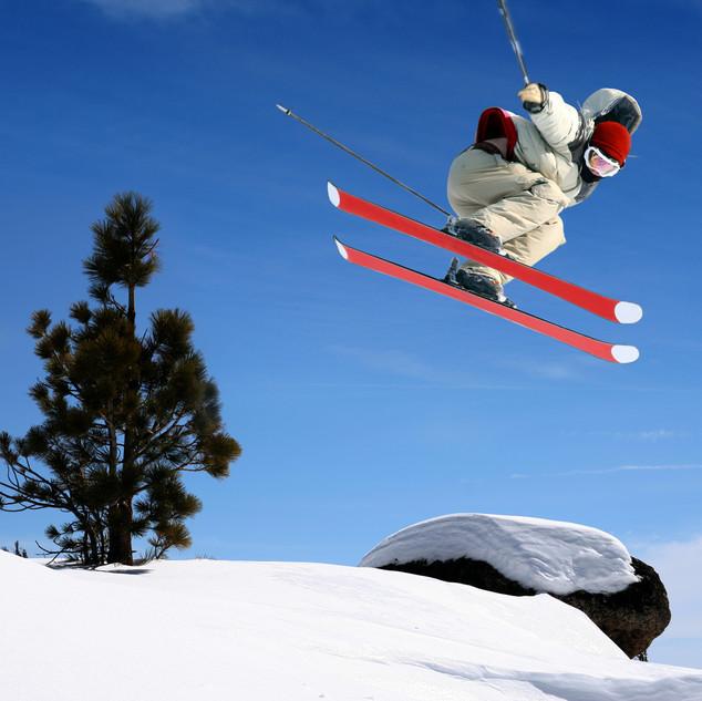 PIC-Skiier jumping high at Lake Tahoe.jp