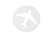 A light grey icon of a commercial airplane.