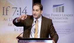 Pastor Steven Khoury speaking at the Family Leadership Foundation.