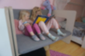 Kindercouch multifunktional