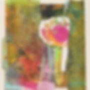 Pink Peony by painting Dorothy Ganek