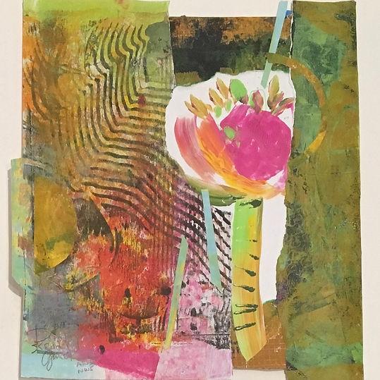 Pink Peony by Dorothy Ganek