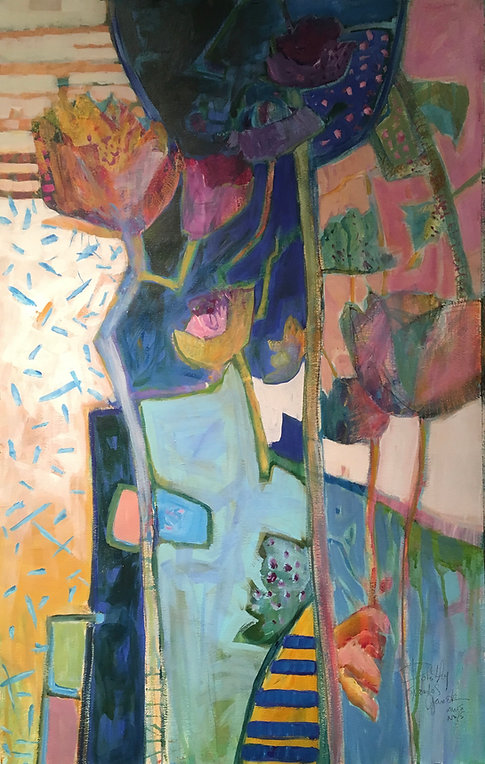Tiled Tabletop  by Dorothy Ganek