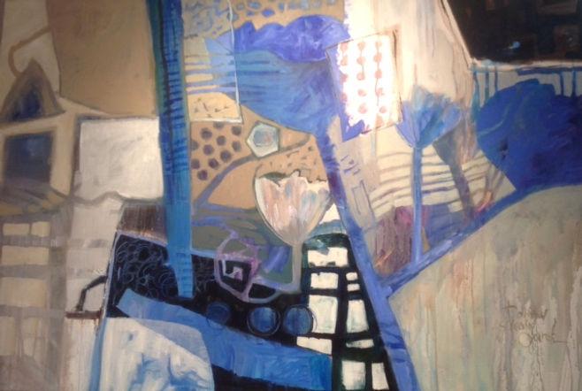 Blue Fantasy by DorothyGanek